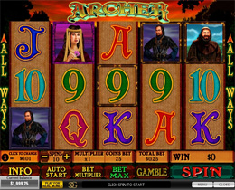 Archer Slot - Playtech Video Slot Game