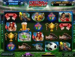 Football Frenzy Main Screen