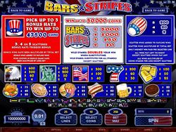 Bars and Stripes Payscreen