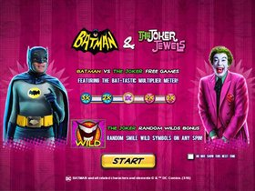 Batman and the Joker jewels Bonus Information