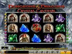 Dungeons and Dragons Main Screen