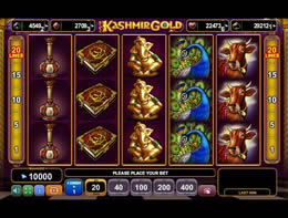 Kashmir Gold Slot from Euro Games