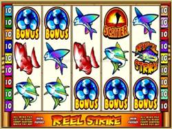 Reel Strike Main Screen