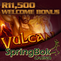 Play Vulcan Slot and Other RTG Slots at Springbok Casino for South African Players