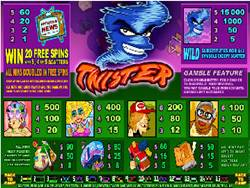 Twister Pay Screen