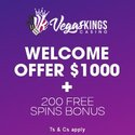 VegasKings - New Online Casino - Play Slots Galore!